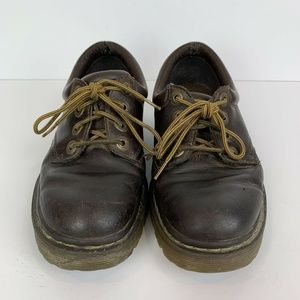 Dr Marten's Graceland 4-Eye Lace Up Brown Shoes